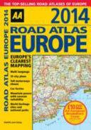 Road Atlas Europe 2014