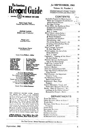 American Record Guide PDF