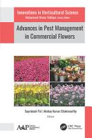 Advances in Pest Management in Commercial Flowers PDF