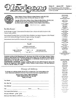 GMP Horizons PDF