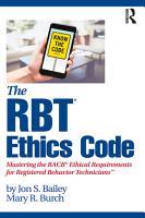 The RBT   Ethics Code PDF