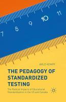 The Pedagogy of Standardized Testing PDF