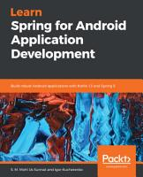 Learn Spring for Android Application Development PDF