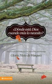 ¿Dónde está Dios cuando más lo necesito?: La perspectiva divina de nuestros problemas