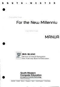 Computer Applications for the New Millennium PDF
