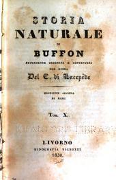 Storia naturale di Bufon: Volumi 10-12