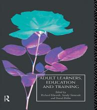 Adult Learners  Education and Training PDF