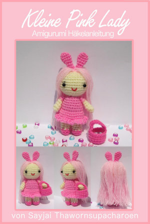 Kleine Pink Lady Amigurumi H  kelanleitung PDF