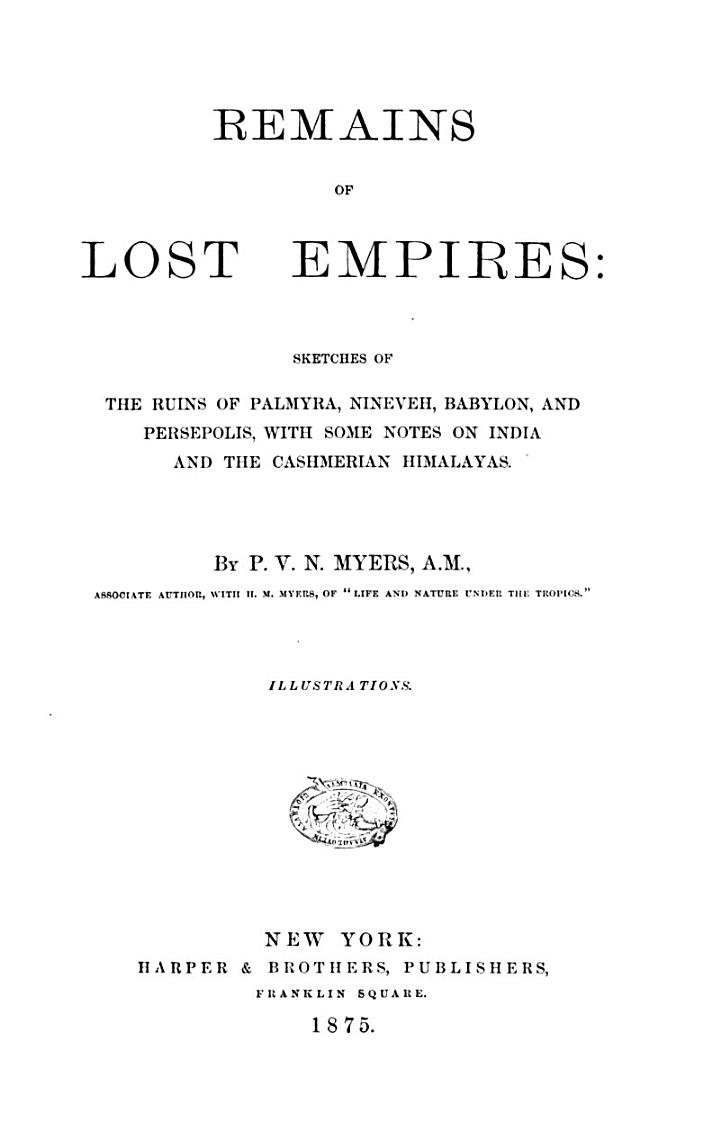 Remains of Lost Empires