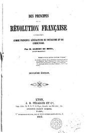 Des principes de la révolution française considéres comme principes générateurs du socialisme et du communisme
