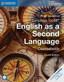 Cambridge IGCSE English as a Second Language Coursebook with Audio CD
