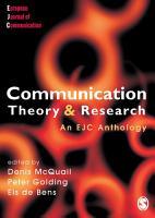 Communication Theory and Research PDF