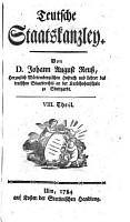 Teutsche Staatskanzlei PDF
