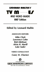 Leonard Maltin s TV Movies and Video Guide  1987 PDF