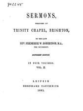 Sermons Preached at Trinity Chapel, Brighton: Volume 2