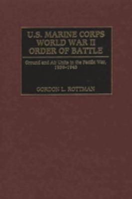 Download U S  Marine Corps World War II Order of Battle Book