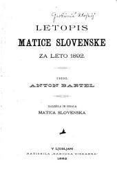 Letopis Matice slovenske