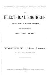 The Electrical Engineer: Volume 10