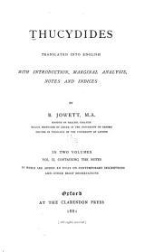 Thucydides: Volume 2