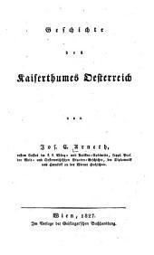 Geschichte des Kaiserthumes Desterreich