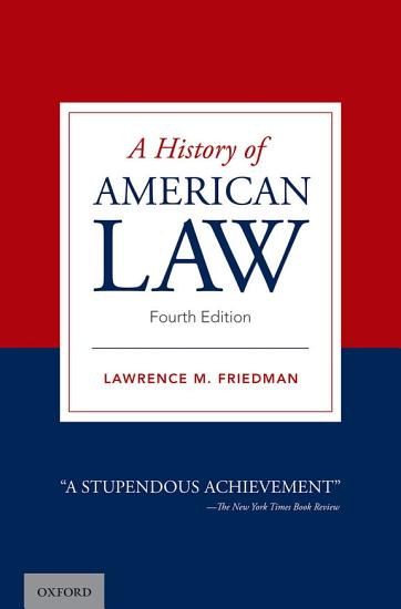 A History of American Law PDF