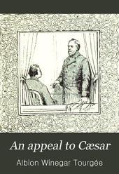 An Appeal to Cæsar