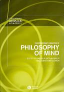 Contemporary Debates in Philosophy of Mind PDF