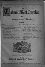 Torch and Colonial Book Circular