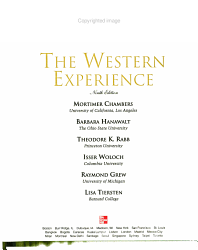The Western Experience Volume 1 Book PDF