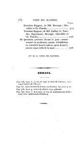 Traité des poisons: ou, Toxicologie appliquée à la médecine légale, à la physiologie et à la thérapeutique, Volume1