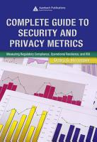 Complete Guide to Security and Privacy Metrics PDF