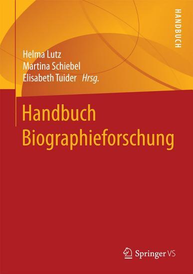Handbuch Biographieforschung PDF