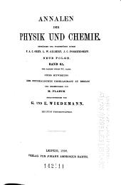 Annalen der Physik und Chemie: Band 301