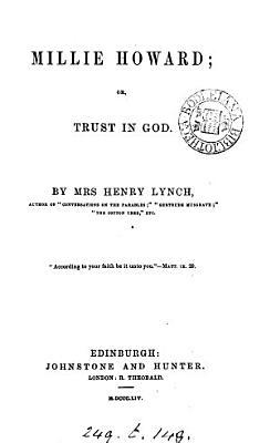 Millie Howard  or  Trust in God PDF