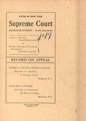 Supreme Court Appellate Division Fourth Dept. Vol. 1939