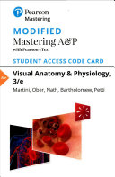 Modified Mastering A P with Pearson EText for Visual Anatomy   Physiology Access Card