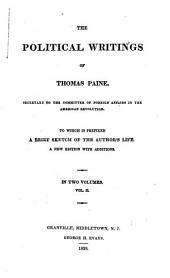 The Political Writings of Thomas Paine: Volume 2