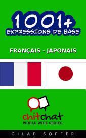 1001+ Expressions de Base Français - Japonais