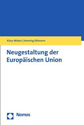 Neugestaltung der Europ  ischen Union PDF