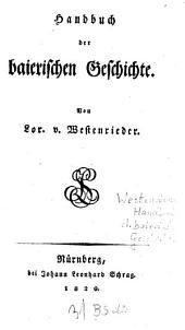 Handbuch der baierischen Geschichte