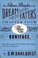 The Glass Books of the Dream Eaters  Chapter 4 Boniface  PDF