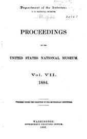 Proceedings of the United States National Museum: Volume 7