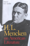 Download H L  Mencken on American Literature Book