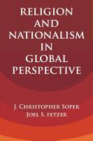 Religion and Nationalism in Global Perspective PDF