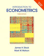 Introduction to Econometrics: Edition 3