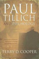 Paul Tillich and Psychology PDF