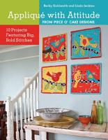 Applique with Attitude from Piece O Cake Designs PDF