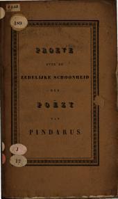 Proeve over de zedelijke schoonheid der Poëzij van Pindarus