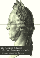 The Hampton L. Carson Collection of Engraved Portraits of Gen. George Washington: Issue 906, Parts 1-2