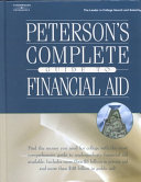 Peterson s Complete Guide to Financial Aid